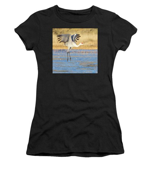 Dancing Crane Women's T-Shirt