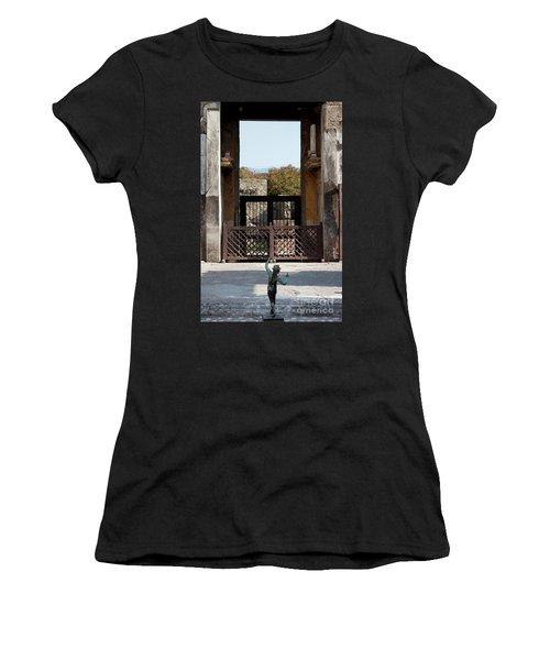 Dancing Faun Women's T-Shirt (Athletic Fit)
