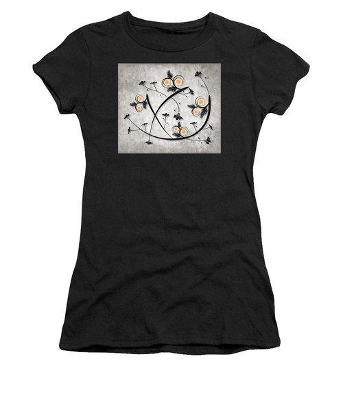 Dancing Flowers Women's T-Shirt