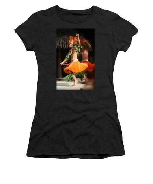 Dancing In Tahiti Women's T-Shirt