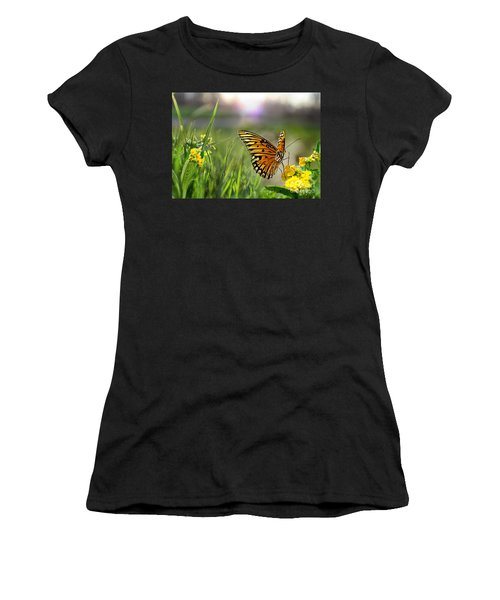 Dancing In The Light Women's T-Shirt (Athletic Fit)