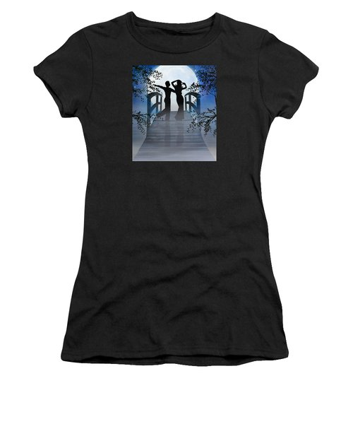 Dancing In The Moonlight Women's T-Shirt (Athletic Fit)
