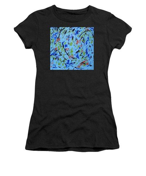 Dancing Light Women's T-Shirt (Athletic Fit)