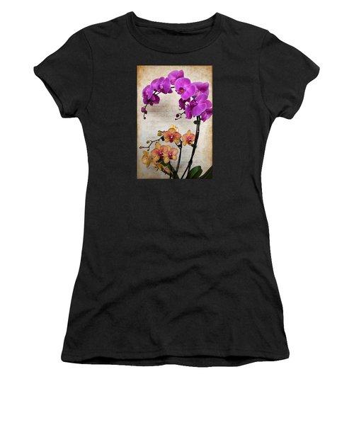 Dancing Orchids Women's T-Shirt