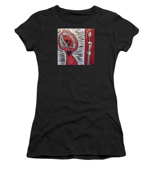 Dancing Until My Heart Breaks Women's T-Shirt (Athletic Fit)