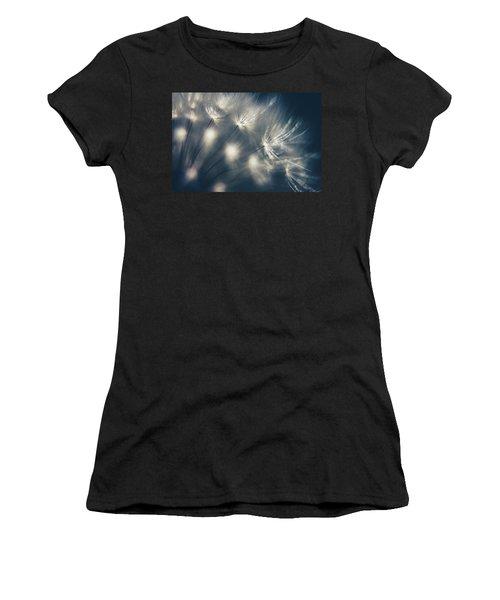 Dandelion Seeds Women's T-Shirt (Athletic Fit)