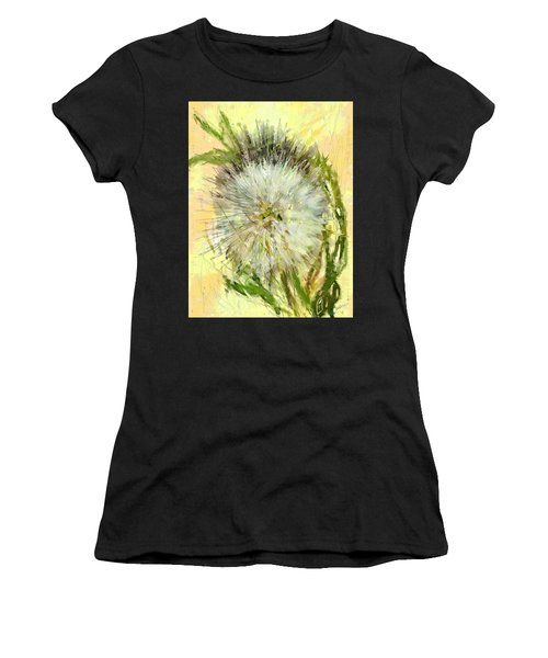 Dandelion Sunshower Women's T-Shirt (Athletic Fit)