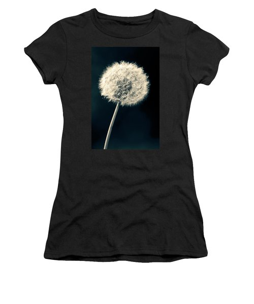 Dandelion Women's T-Shirt (Junior Cut) by Ulrich Schade