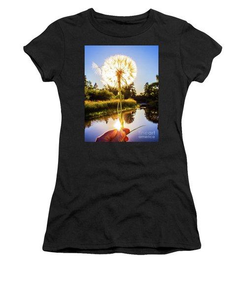 Dandy Lion Women's T-Shirt (Athletic Fit)
