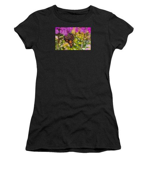 Dangling Monarch   Women's T-Shirt (Athletic Fit)