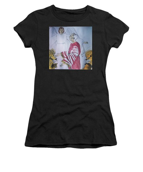Daniel And Lion's Den Women's T-Shirt