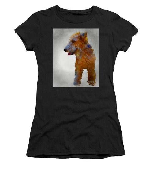 Darby Dog Women's T-Shirt (Athletic Fit)