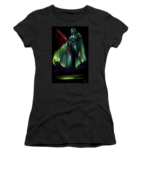 Dark Light Women's T-Shirt (Athletic Fit)
