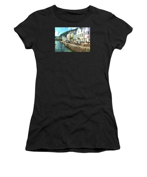 Bayards Cove Dartmouth Devon  Women's T-Shirt