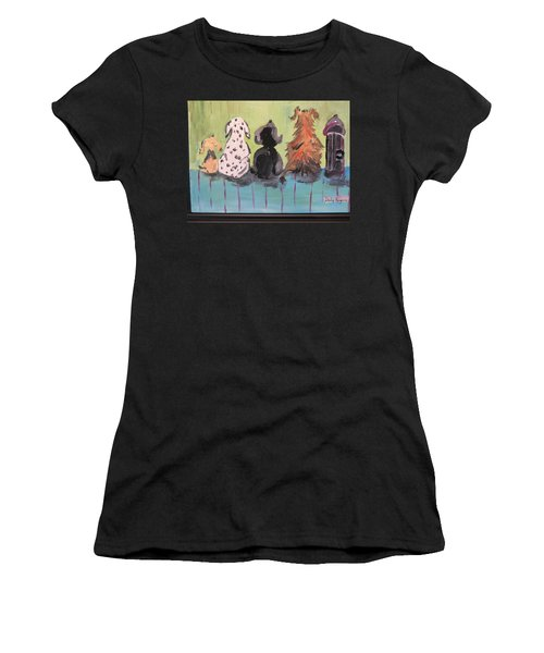 Dawg Outhouse Women's T-Shirt (Athletic Fit)
