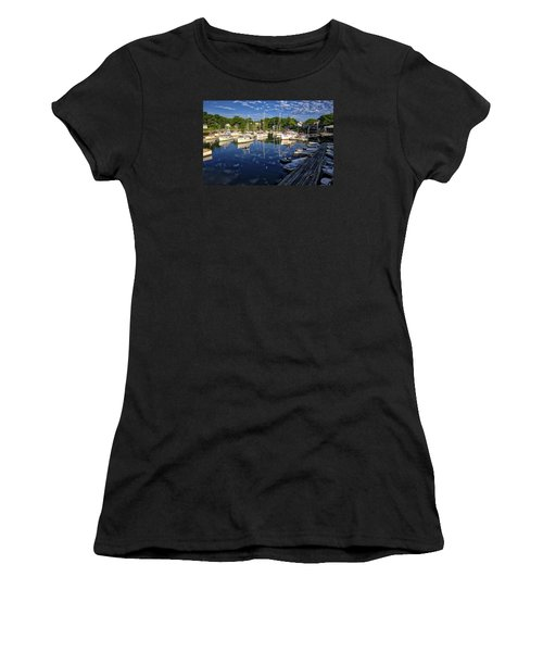 Dawn At Perkins Cove - Maine Women's T-Shirt (Athletic Fit)