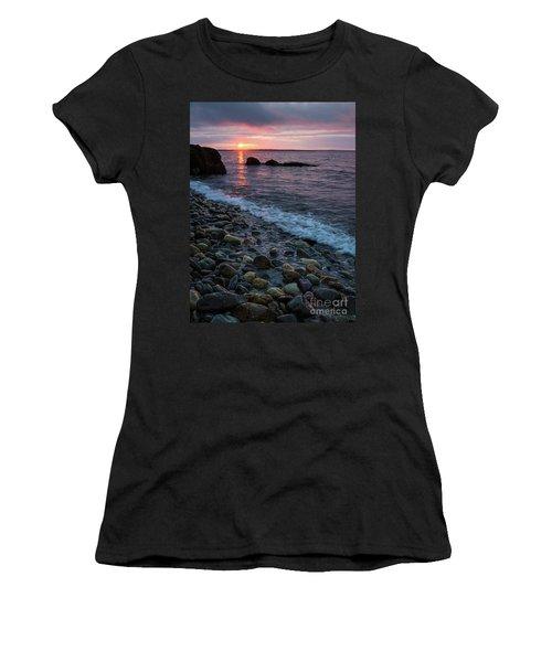 Dawn, Camden, Maine  -18868-18869 Women's T-Shirt (Junior Cut) by John Bald