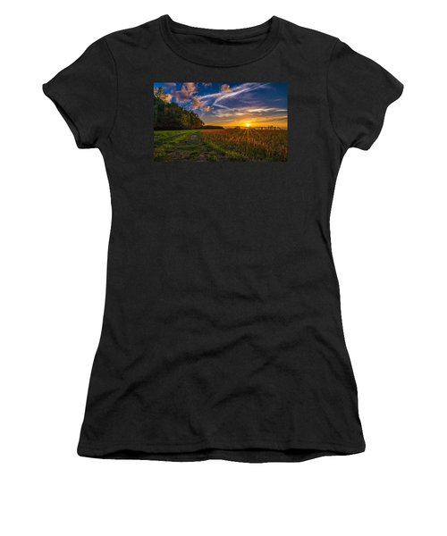 Dawn In The Lower 40 Women's T-Shirt