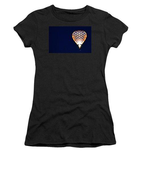 Women's T-Shirt featuring the photograph Dawns Early Light by AJ Schibig