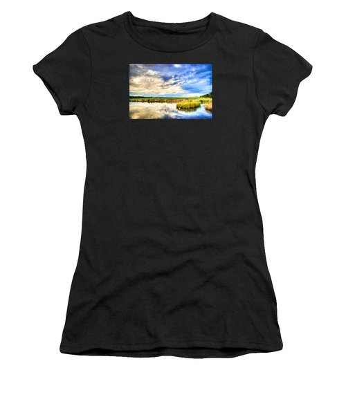 Day At The Marsh Women's T-Shirt (Athletic Fit)