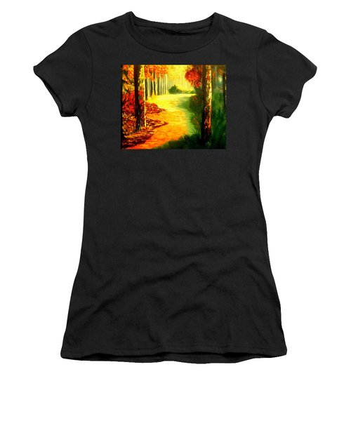 Day Of Rest Women's T-Shirt (Athletic Fit)