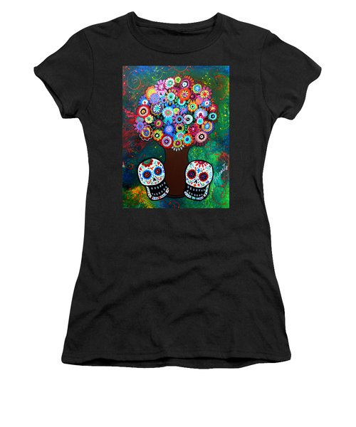 Day Of The Dead Love Offering Women's T-Shirt