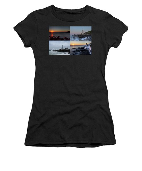 Day Or Night In Any Season Women's T-Shirt