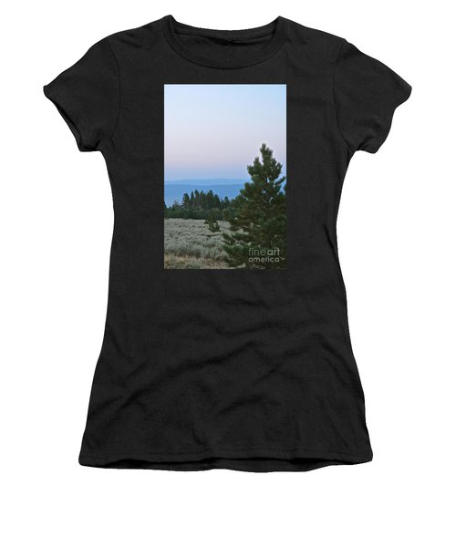 Daybreak On The Mountain Women's T-Shirt