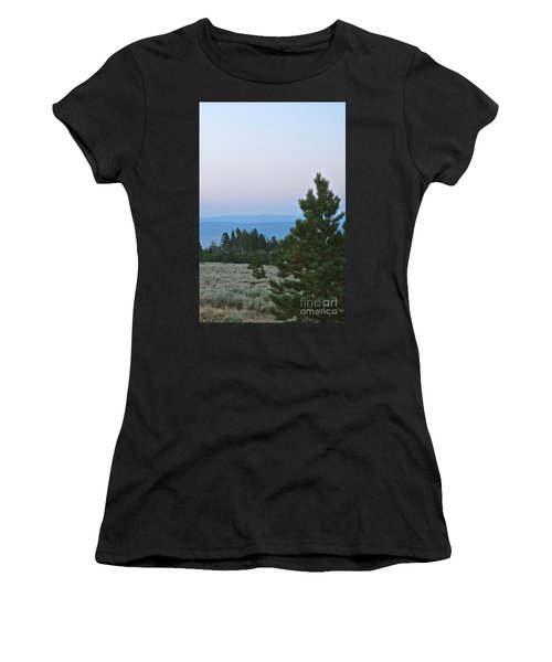 Daybreak On The Mountain Women's T-Shirt