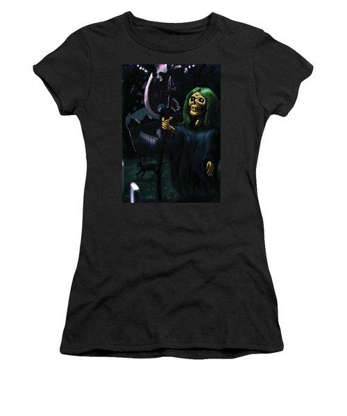 Death Women's T-Shirt (Athletic Fit)