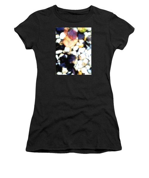 Decaying Leaves Women's T-Shirt (Junior Cut) by Mimulux patricia no No