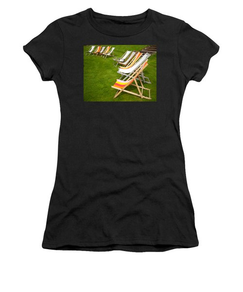 Deck Chairs Women's T-Shirt