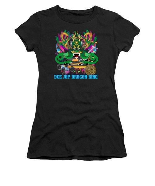 Dee Jay  Dragon 7  King All Products Women's T-Shirt (Junior Cut) by Bill Campitelle