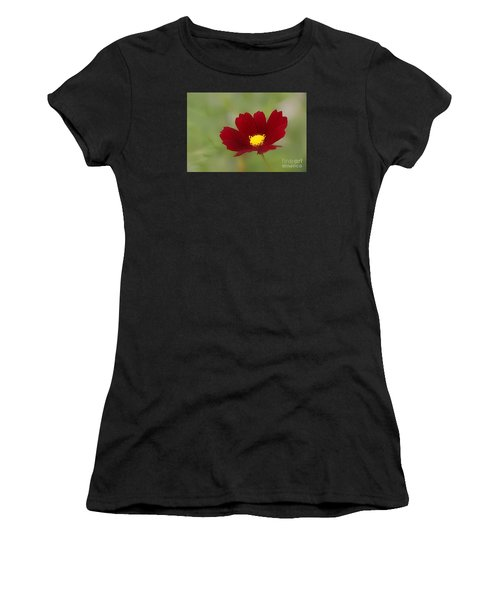 Deep In Red Women's T-Shirt (Athletic Fit)