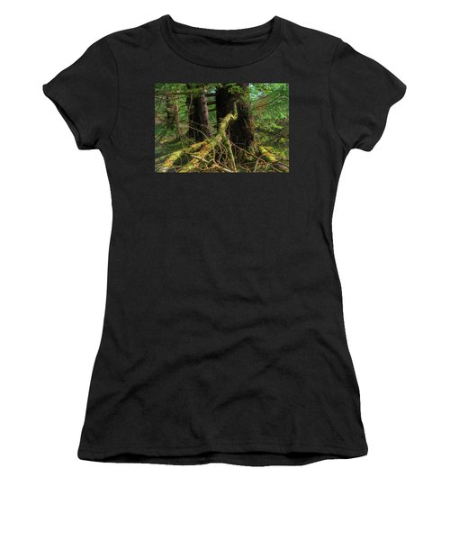 Deep In The Woods Women's T-Shirt (Junior Cut)