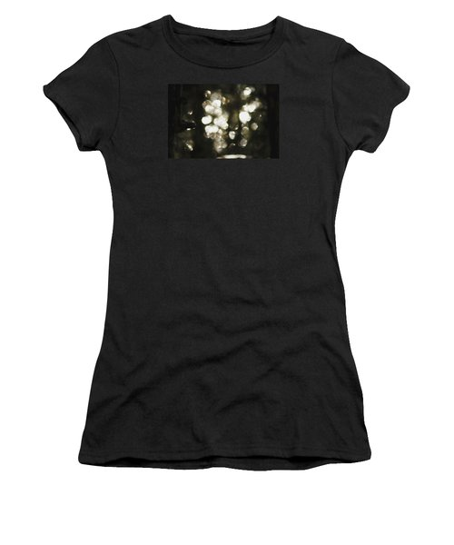 Women's T-Shirt (Athletic Fit) featuring the photograph Deep In Woods by Yulia Kazansky