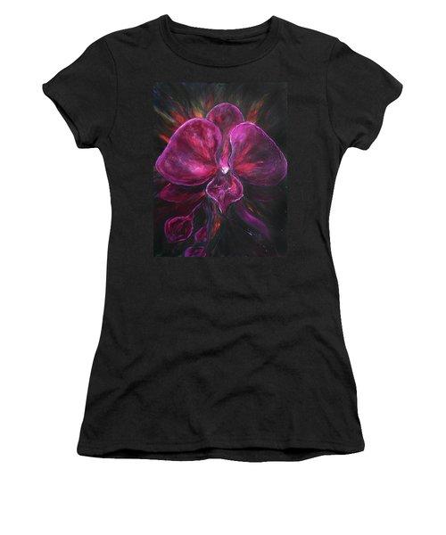 Deep Purple Orchid Women's T-Shirt