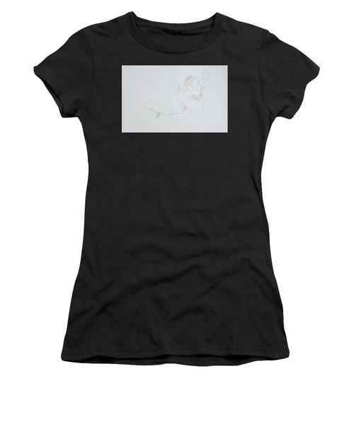 Women's T-Shirt (Athletic Fit) featuring the mixed media Deepthroat by TortureLord Art