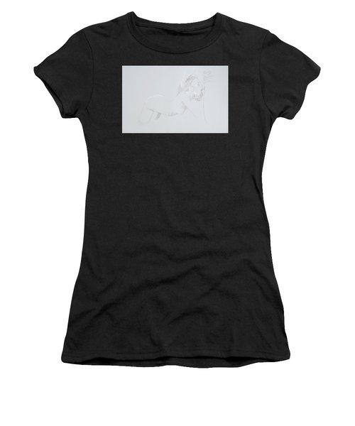 Women's T-Shirt featuring the mixed media Deepthroat by TortureLord Art