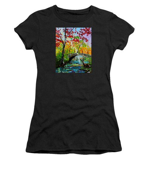 Deer Crossing Women's T-Shirt