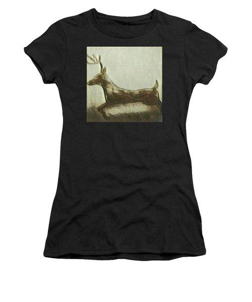 Deer Energy Women's T-Shirt (Athletic Fit)