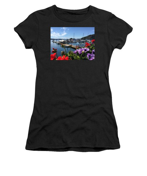 Deer Harbor By Day Women's T-Shirt (Athletic Fit)