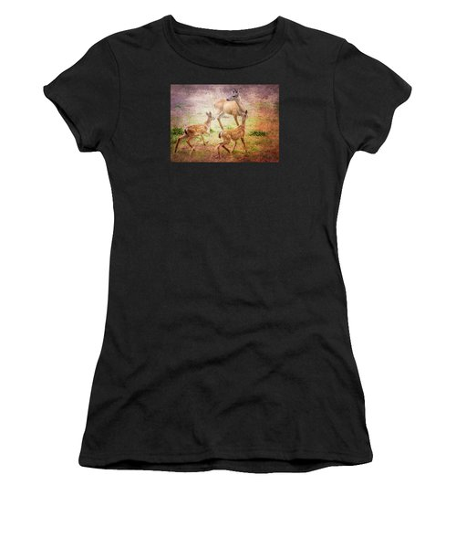 Deer On Vancouver Island Women's T-Shirt
