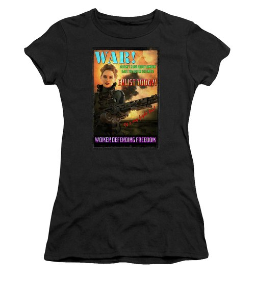 Defending Freedom Women's T-Shirt