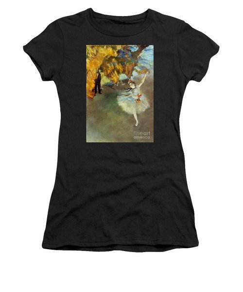 Degas Star, 1876-77. To License For Professional Use Visit Granger.com Women's T-Shirt (Athletic Fit)