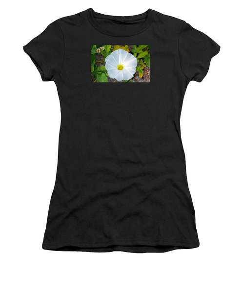 Delicate Beach Flower Women's T-Shirt (Junior Cut) by Kenneth Albin