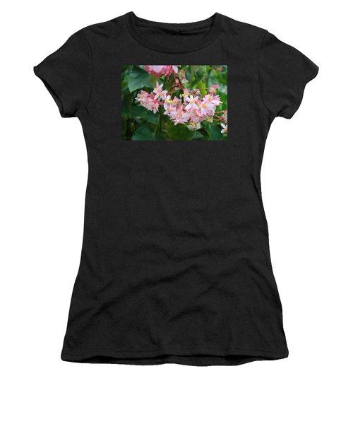 Delicate Flowers Women's T-Shirt (Athletic Fit)