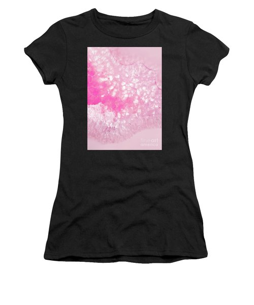 Delicate Pink Agate Women's T-Shirt