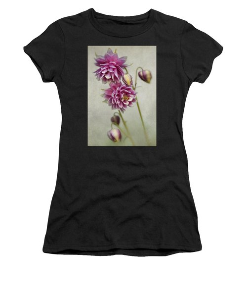 Delicate Pink Columbine Women's T-Shirt