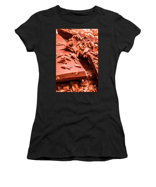 Delicious Bars And Chocolate Chips  Women's T-Shirt